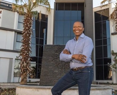 """Inside Sisa Ngebulana's new luxury hotel in Mthatha"" - Destiny Connect"