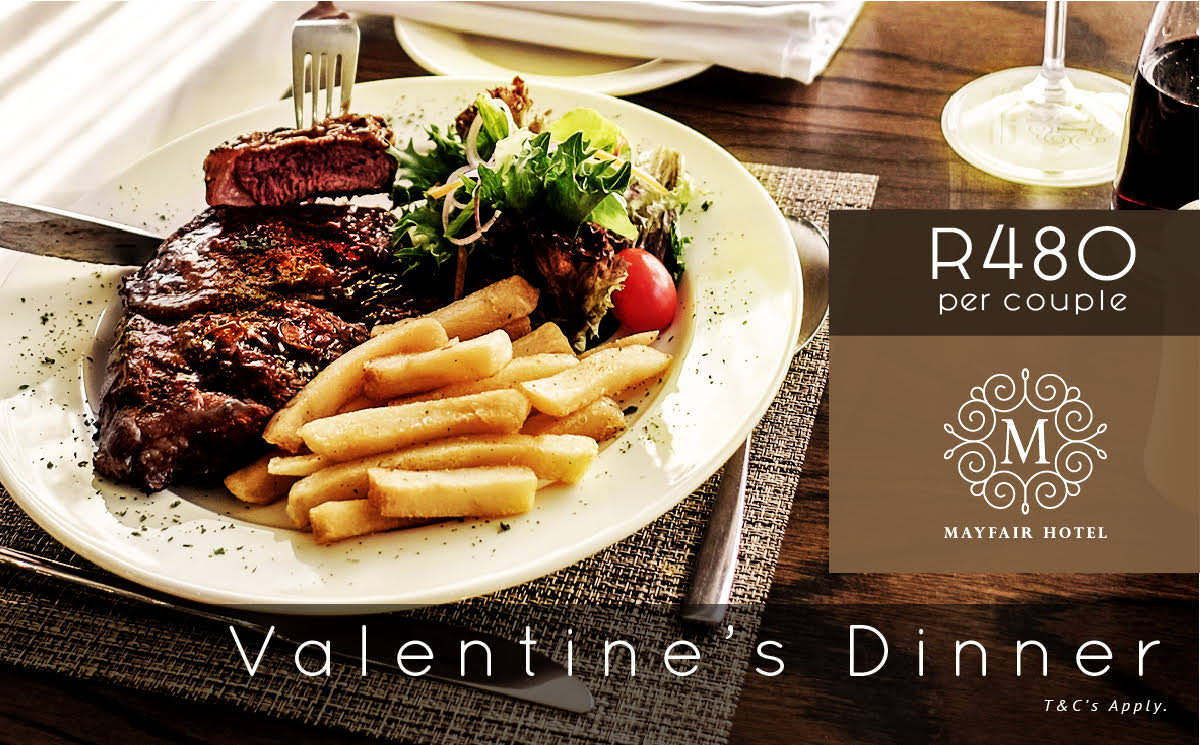 Valentine's Dinner at Mayfair Hotel