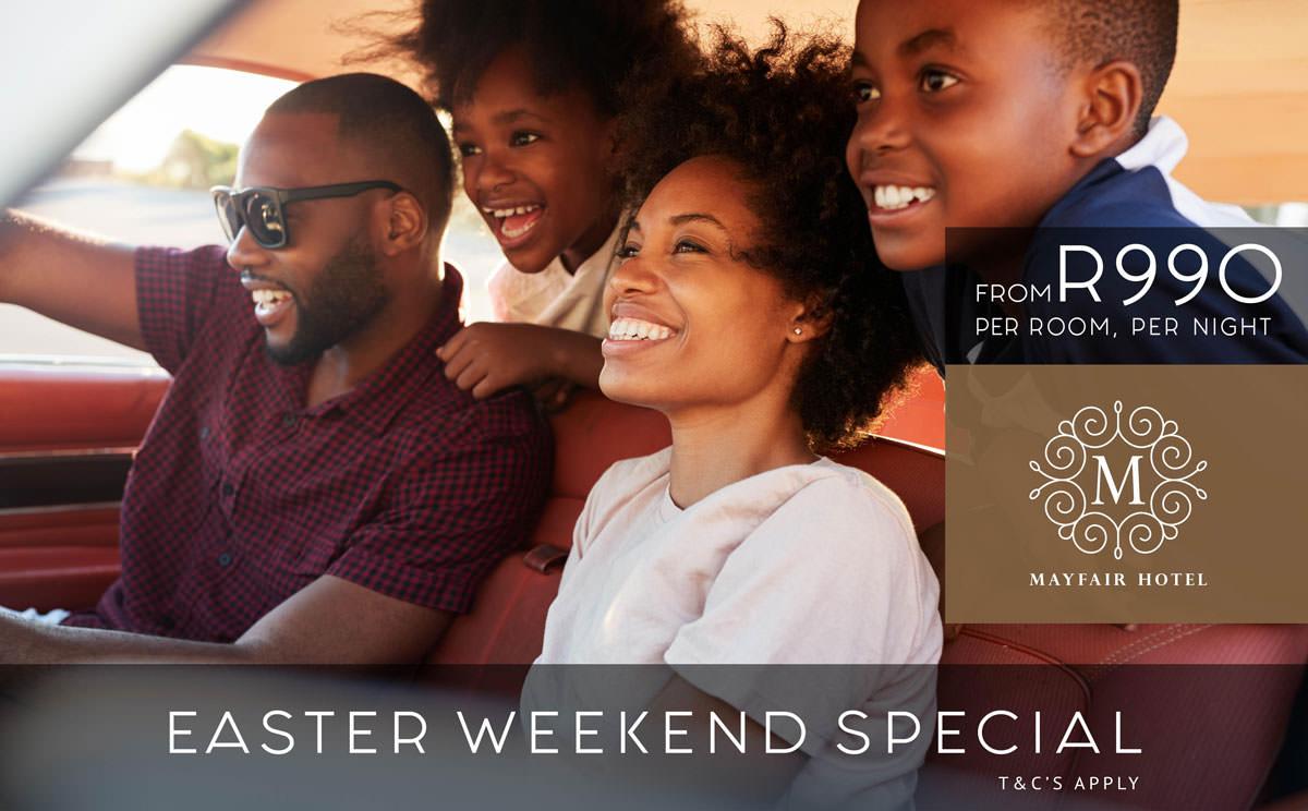 Easter Weekend Special - Mayfair Hotel