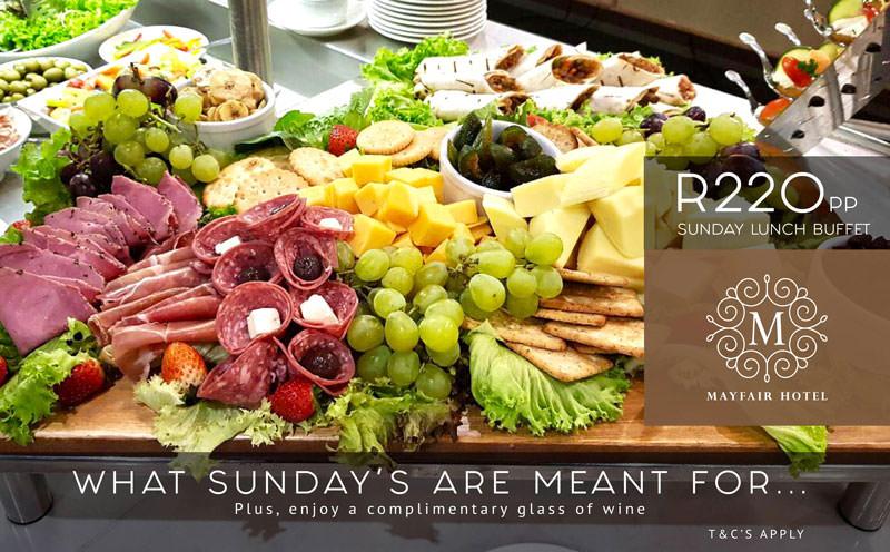 Sunday Lunch Buffet - Mayfair Hotel
