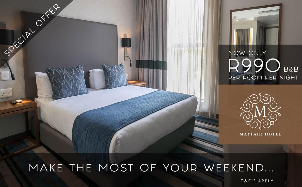 Weekend Special | Mayfair Hotel