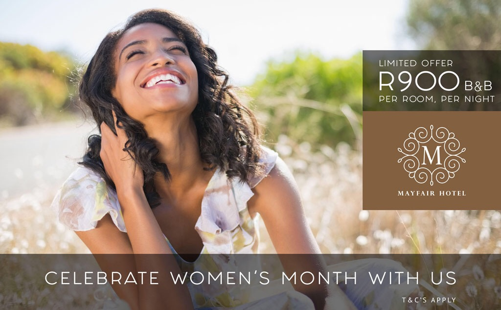 Women's Month Weekend Special | Mayfair Hotel
