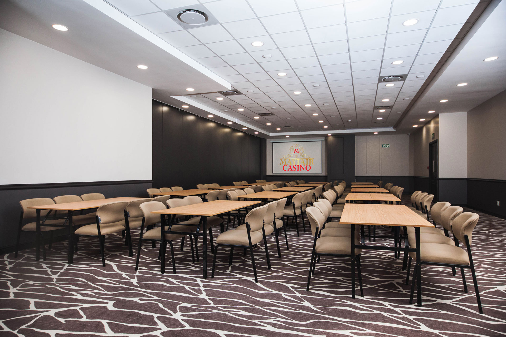 Boardroom Seating Conference Facilities | Mayfair Hotel