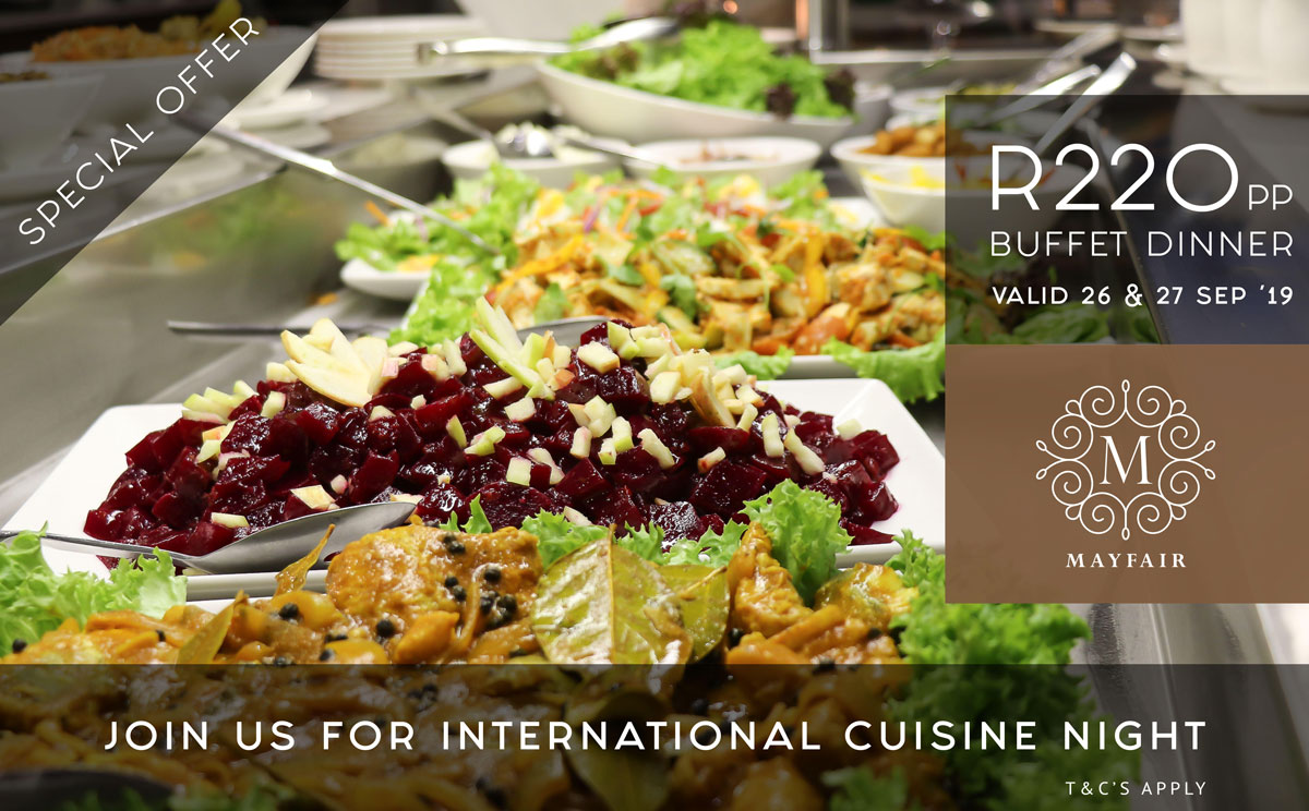 International Quisine Night | Mayfair Hotel
