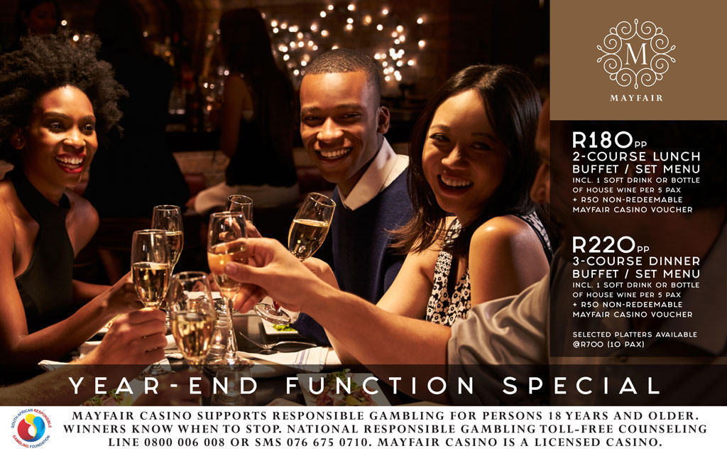 Year-End Function Special | Mayfair Hotel