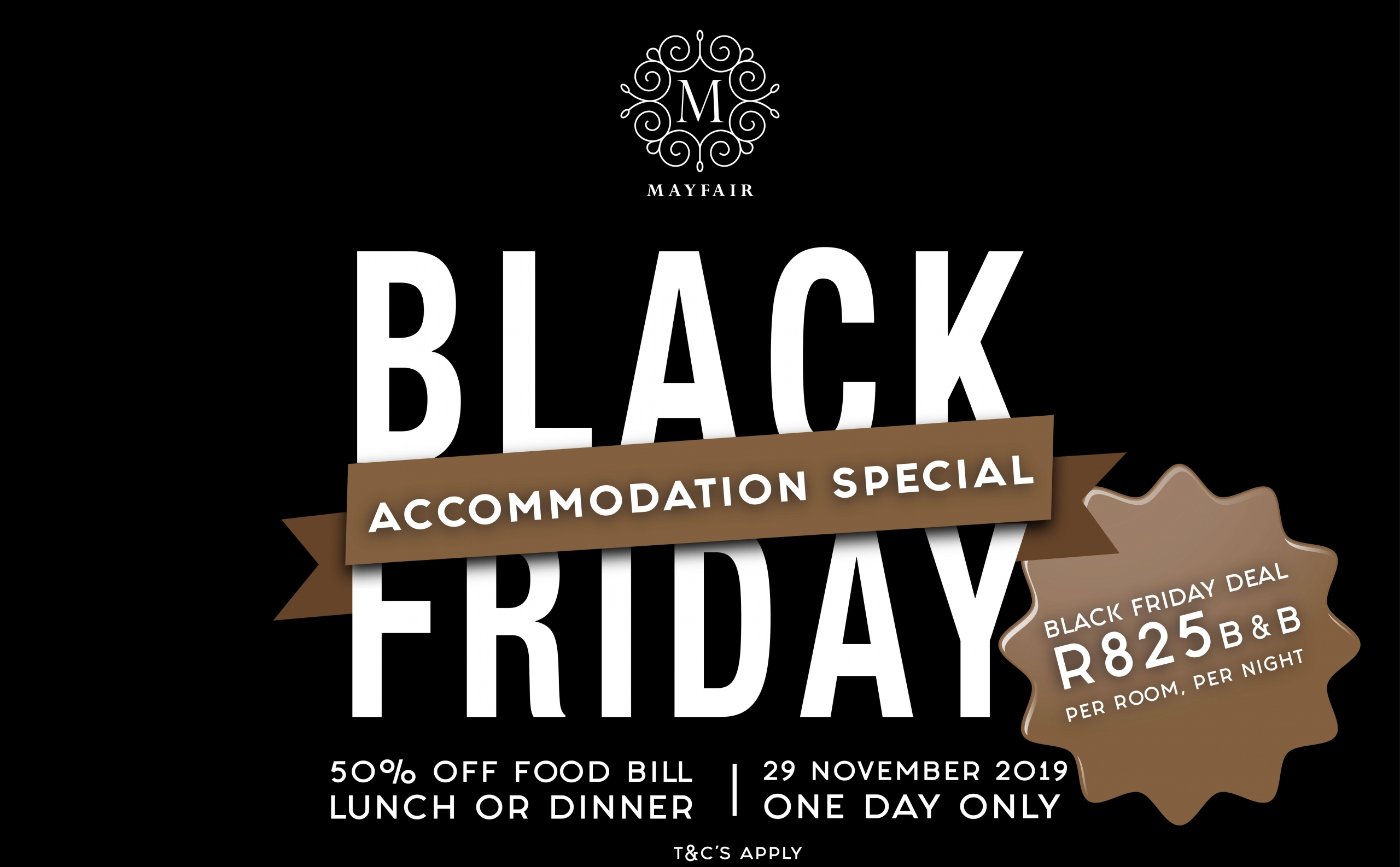Mayfair Hotel | Black Friday Accommodation Special