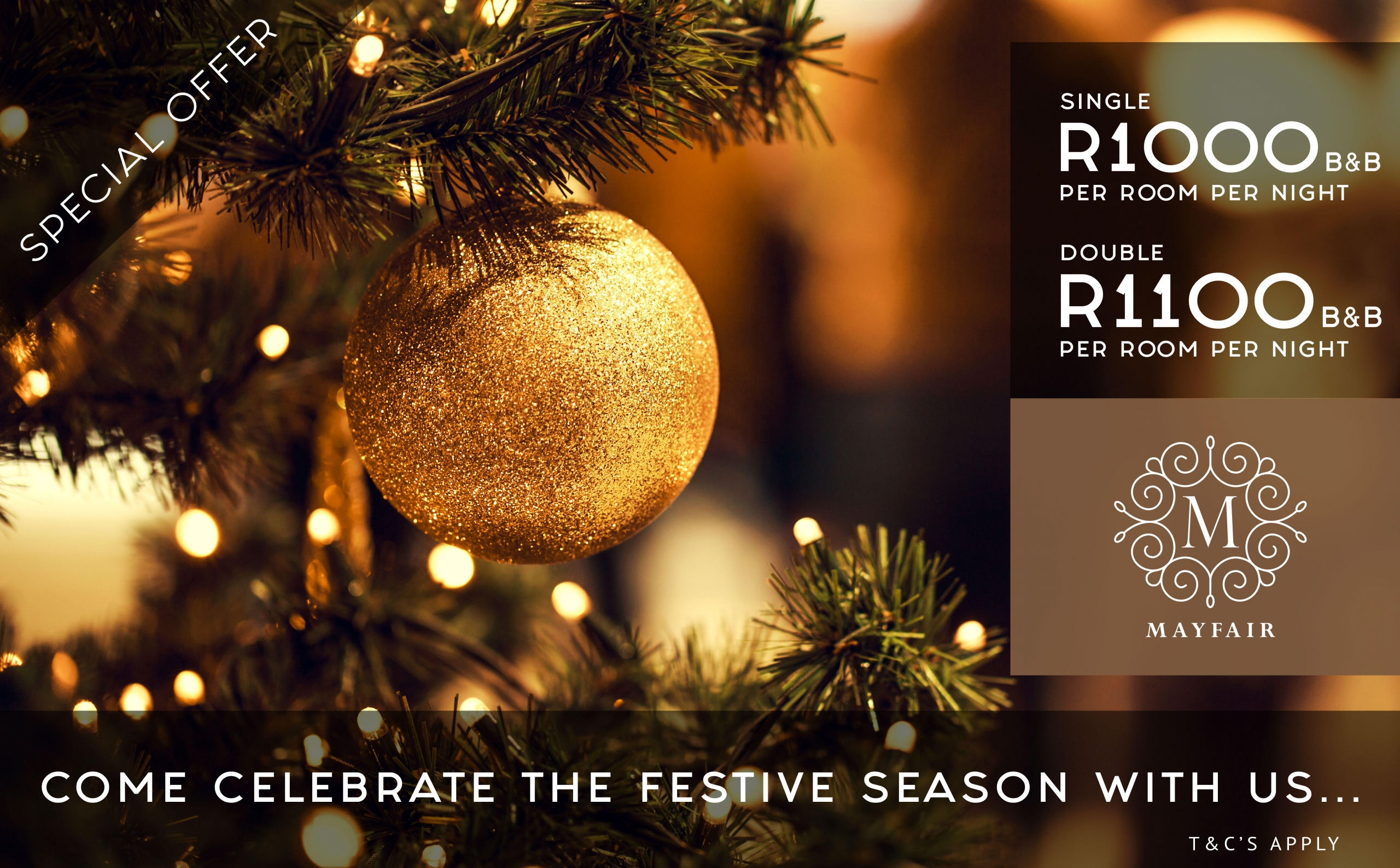 Mayfair Hotel | Festive Season Special