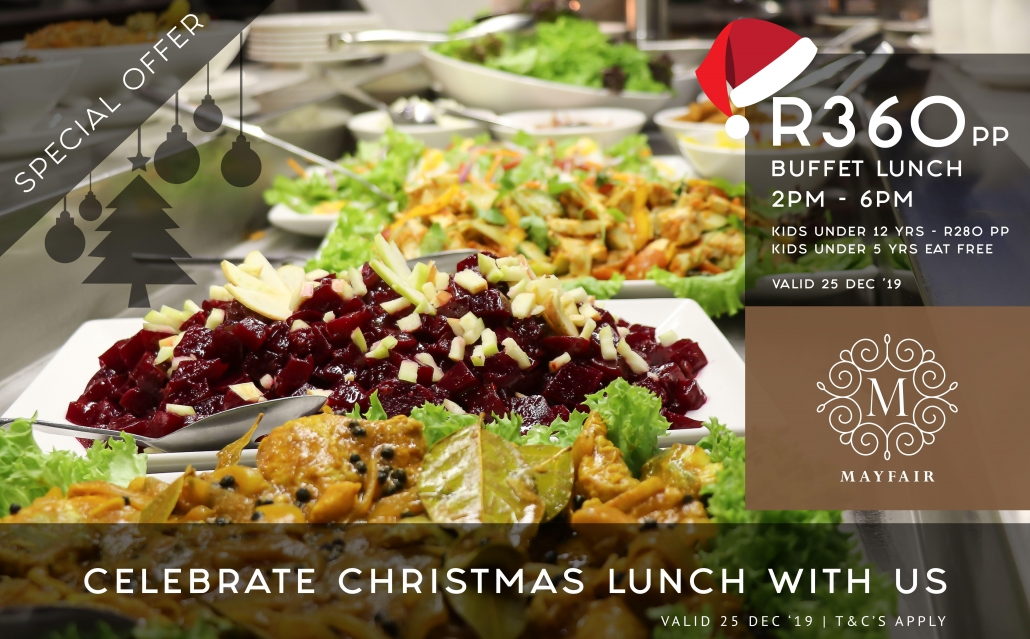 Mayfair Hotel | Christmas Lunch Special