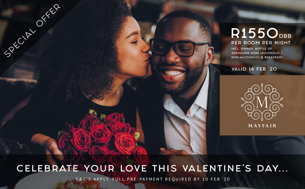 Valentines Escape | Mayfair Hotel