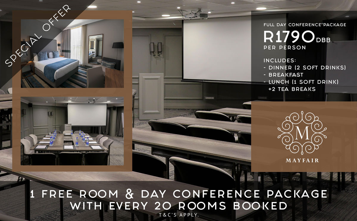 Group Conferencing Special | Mayfair Hotel