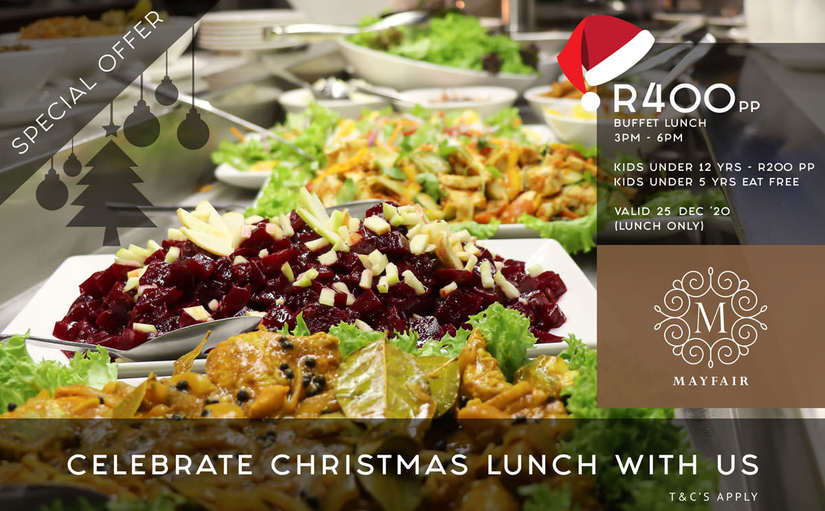 Christmas Lunch Special | Mayfair Hotel