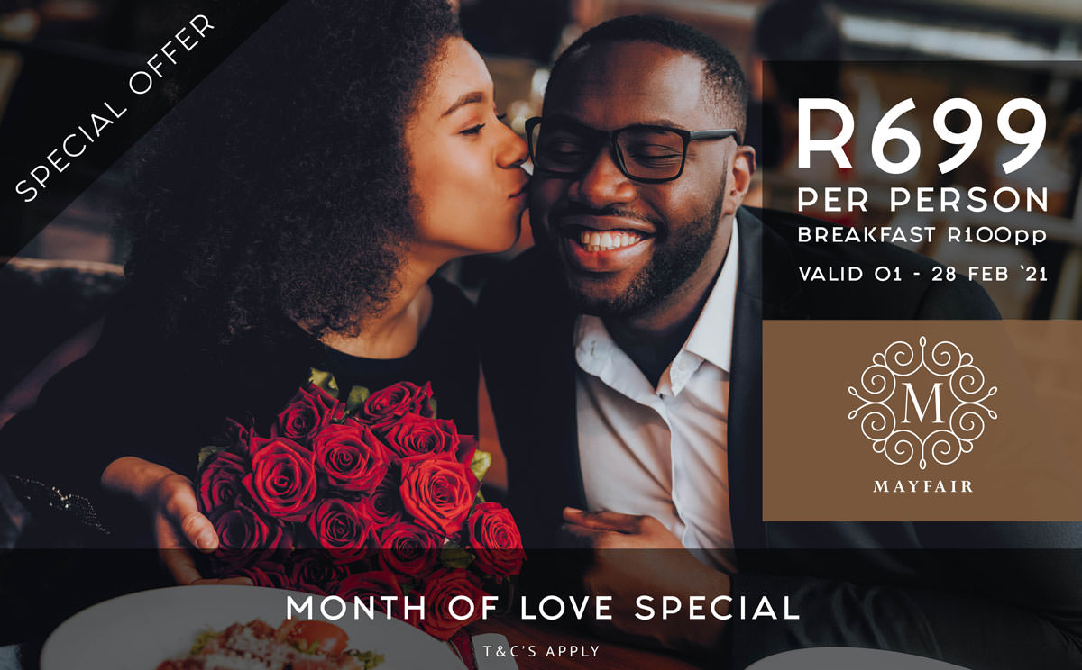 Month of Love Special | Mayfair Hotel
